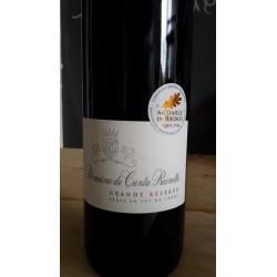 Côtes de Provence rouge cuvée Grande Réserve