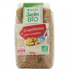 Coquillettes express bio semi-complètes 500G