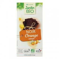 Chocolat tablette noir orange bio 100g