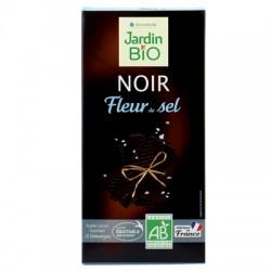 Chocolat noir fleur de sel bio 100g