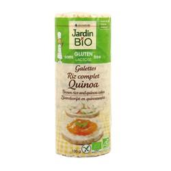 Galettes de riz complet au quinoa bio sans gluten  130g
