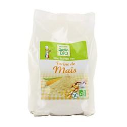 Farine de maïs bio sans gluten 400g Jardin Bio