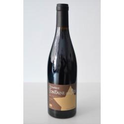 Vin Côtes du Rhône village Rouge Domaine Fontaine des fées (BIO)