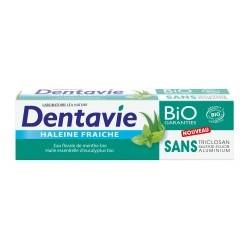 Dentifrice • haleine fraîche • eau florale de menthe bio • Dentavie 75 ml