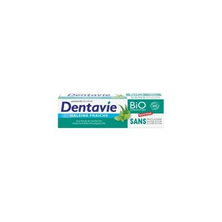 Dentifrice • haleine fraîche • eau florale de menthe bio • Dentavie