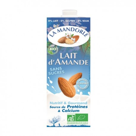 Lait d'amande La Mandorle 1L