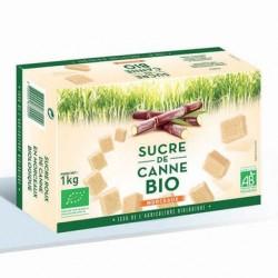 Sucre de canne en morceaux  1kg Loiret Haentjens