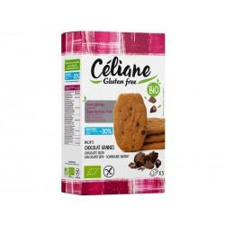 Biscuits petit-déjeuner pépites de chocolat Bio - 150 g - Céliane