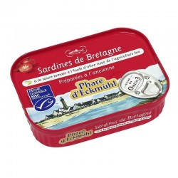 Sardines sauce tomate à l'huile d'olive MSC  135g