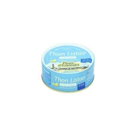 Thon listao au naturel et touche de citron 112gr