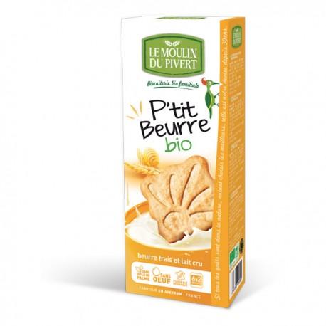 P'tit beurre au lait cru 155gr Bio Le Moulin du Pivert