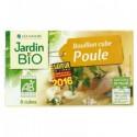 Bouillon cube volaille bio - sans huile de palme (10 cubes)