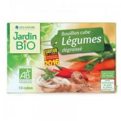 Bouillon cube légumes dégraissé sans huile de palme (10 cubes)