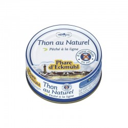Thon albacore au naturel hyposodé 112gr