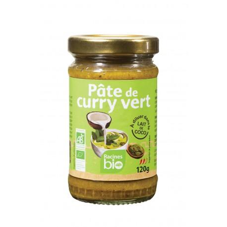 Pâte de Curry Vert - 120 G- Racines Bio