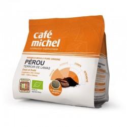 Café dosette souple du Pérou Café Michel 125  G