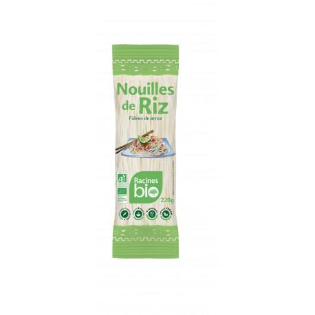 Nouilles de Riz 220gr  Racines Bio