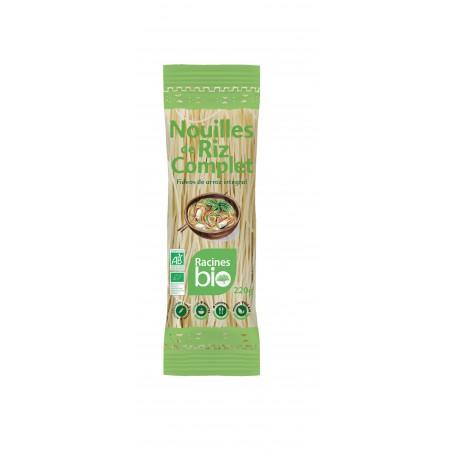 Nouilles de riz complet 220gr Racines Bio