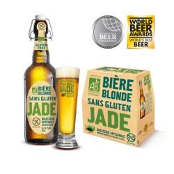 Bière traditionnelle sans gluten JADE 25 cl