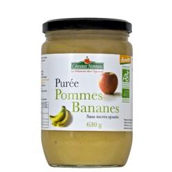 Purée pomme banane Coteaux Nantais 630 g
