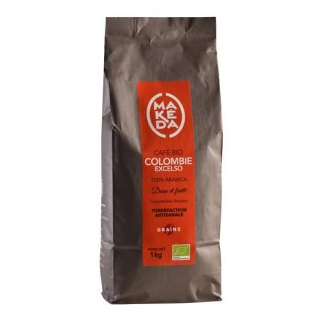 Café grain Colombie Excelso coopérative Asopep  1kg