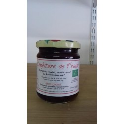 Confiture de fraise bio 230  g