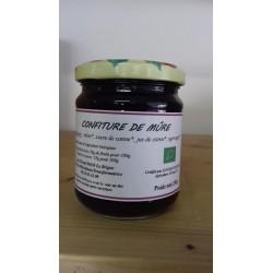 Confiture de mûre bio 230 g