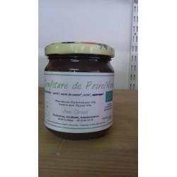 Confiture de poire/noix bio 425  g