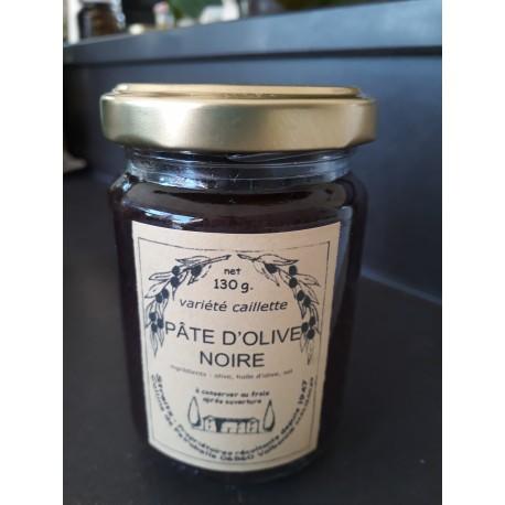 Pate d'Olives noires varieté caillete  Domaine de Peyrebelle 130g