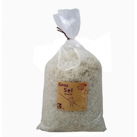 Gros sel  Ile de Ré 1 KG  Nature et progrès
