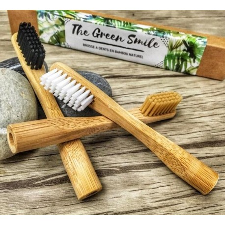 Brosse à Dents Bambou Adulte- The Green Smile