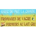 Fromage Blanc 1 Kg   au Lait Cru Bio Echanges Paysans