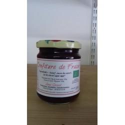 Confiture de fraise bio 400 g