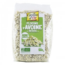Petits flocons avoine 500 g Grillon d'or