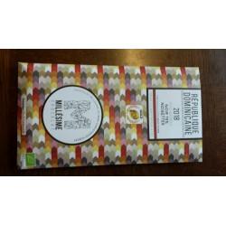 Chocolat tablette noir 75% et noisettes Rép. Dominicaine 70g