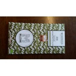 Chocolat tablette noir 65% nougatine pistache Nicaragua70g