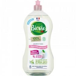 Concentré vaisselle et mains à l'Aloe Vera bio, hypoallergénique- 1L