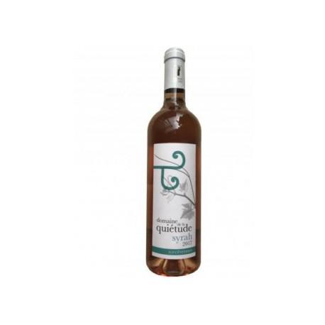 Vin rosé Syrah Quiétude - bouteille 75 cl