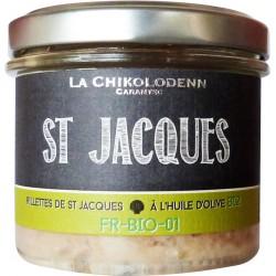 La Chikolodenn Rillettes de Saint Jacques à l'huile d'olive - verrine 90g
