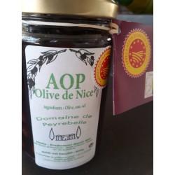 Olives de Nice aux herbes  AOP Domaine de Peyrebelle 200g
