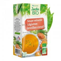 Soupe veloutée légumes et lentilles corail 1L