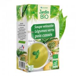 Soupe velouté de légumes verts et pois cassés 1L