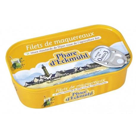 Maquereaux filets MSC  moutarde 113g
