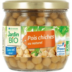 Pois chiches au naturel bio 330g