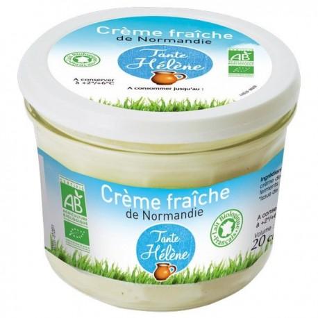 Crème Fraîche De Normandie 20cl Bio Tante Héléne