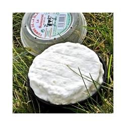 Tomme de la blanche affinée au lait cru 130G pré emballé Echanges Paysans