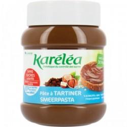 Pâte à tartiner noisette cacao sans sucres ajoutés et sans huile de palme karéléa 400g