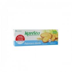 Biscuits palmiers dorés sans sucres ajoutés karéléa 100g