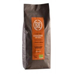 Café grain Ethiopie Sidamo   1kg