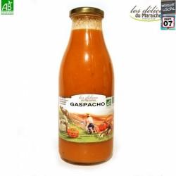 Gaspacho Bio 1l Délices du Maraîcher  bouteille en verre 1l